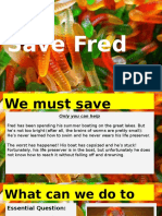 save fred- lesson