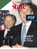 State Magazine, April 2001