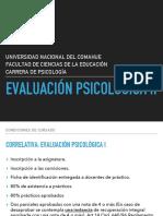 Teórico Evaluación Psicológica I
