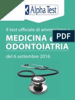 Prova Ufficiale Test Medicina-Odontoiatria 2016