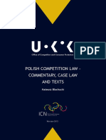 UOKiK Polish Competition Law 2013