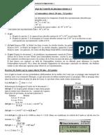 DS1 - Cor - Ondes - Acide Et Base