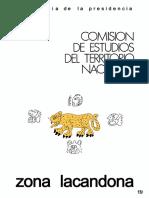 Estudio de Gran Vision de La Zona Lacandona Chiapas