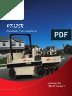 Ficha Tecnica Compactador Neumatico Ingersoll Rand Pt-125r