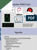 Comparação Entre Distribuições Linux