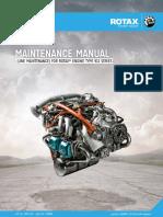 Rotax 912 aircraft engine Maintenance Manual