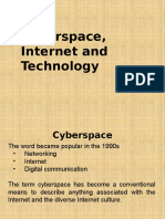 Session 2 - Cyberspace, Internet and Technology