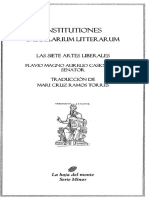 Casiodoro Flavio Magno Aurelio - Las Siete Artes Liberales
