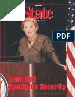 State Magazine, June 2000