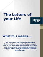 the letters of your life website