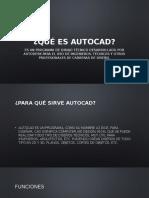 Qué Es AutoCAD