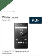 Xperia Z5 Premium Dual E6833 E6883 WP 3