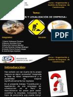 Pasos Para La Legalizacion de Empresa