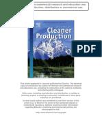 2009 Cerdan Et Al. JCP (Ecodesign Indicators)