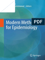 Morden Methods of Epidemiology