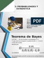 Teorema de Bayes - Estadistica