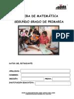 Prueba Tacna 2012 Matematica