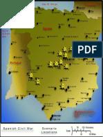 Squad Battles Spanish Civil War Scenario Map