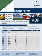 Harke - Flyer - Pigment Pastes (20130228)