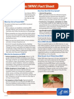 West Nile Virus Fact Sheet