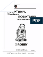 User Manual Robin BMFL WashBeam