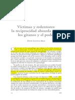 Victimas y Redentores. La Reciprocidad Absurda de Los Gitanos y El Poder