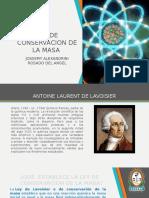 LEY DE CONSERVACION DE LA MASA.pptx