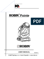 User Manual Robin Pointe