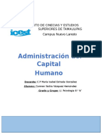 Administración de Capital Humano