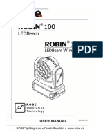 User Manual Robin 100 LEDBeam