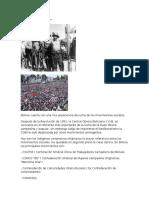 Movimientos Sociales en bolivia