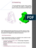 concepts of Solid Modeling
