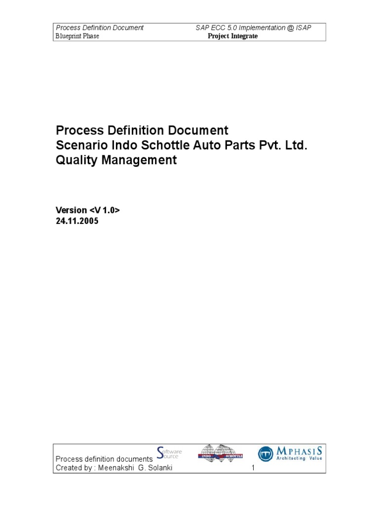 Qm bbpc business process specification technical standard malvernweather Images
