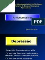 mecanismo de ação  Antidepressivos
