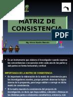 6º Matriz de Consistencia