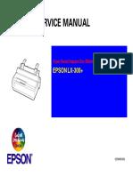 Epson LX-300+ Service Manual