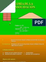 Mecánica de Suelos II - Teoría de Consolidacion (1)
