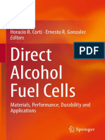 Direct Alcohol Fuel Cells Materials, Performance, Durability and Applications