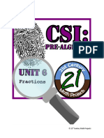Day 12 and 13 - Fractions CSI