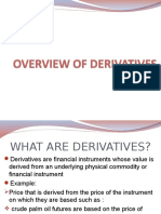 Chapter 1 (Overview of Derivatives)