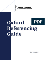 HB Oxford Referencing Guide English