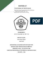 Cover Referat Schwannoma of Sinonasal - Irene Fausta - Fk Untar - 406152029