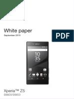 Xperia Z5 White Paper