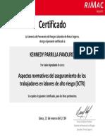 Certificado Kennedy Parrilla Panduro 2