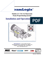 FoamLogix 3.3-5.0-6.5 Manual