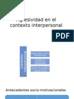 Agresividad en El Contexto Interpersonal