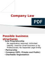 Company Laws in India