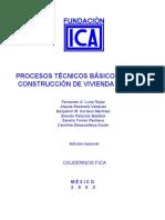 ICA Procesos Basicos Para Construir Vivienda Popular