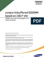 756789ds Ddr3 1gb F-die Based Sodimm Rev131