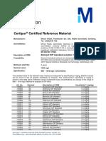 Certipur ICP 1000mg L Spezifikation 20160825